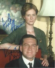 "KENNETH BRANAGH as FRANKLIN ROOSEVELT and CYNTHIA NIXON as ELEANOR ROOSEVELT in 2005 Movie ""WARM SPRINGS"" Signed by Both - 8x10 Color Photo"