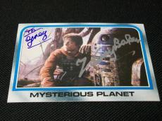 Kenny Baker R2-D2 Auto Signed 1980 Star Wars Empire Strikes Back #175 JSA SOA B