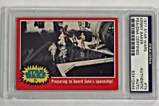 """KENNY BAKER Autograph """"R2-D2"""" Authentic Signed 1977 Topps STAR WARS Card PSA/DNA"""