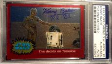 Kenny Baker R2 D2 1999 Topps Chrome AUTO Signed Autograph PSA/DNA Star Wars
