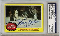 "Kenny Baker ""r2-d2"" Actor Autograph Psa Signed 1977 Star Wars Topps #147 (lsl)"