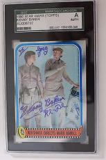 Kenny Baker Signed Autograph 1980 Topps Star Wars R2-D2 Card #254 SGC AUTH SLAB