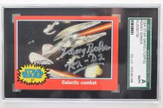Kenny Baker Signed Autograph 2004 Topps Star Wars R2-D2 Card  SGC AUTH SLABBED