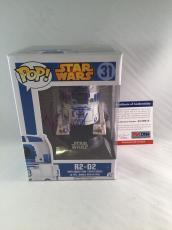 Kenny Baker Signed Star Wars R2-d2 Funko Pop Figure Psa Dna 2