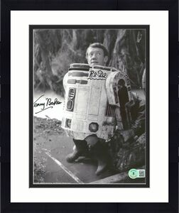 Kenny Baker Star Wars R2-D2 Signed 8x10 Photo Autographed BAS #BB41949
