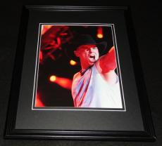 Kenny Chesney in concert Framed 8x10 Photo Poster