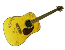 Kenny Chesney Plus Autographed Signed Country Guitar AFTAL