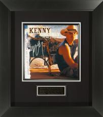 Kenny Chesney Signed Be As You Are Album Flat Framed Display