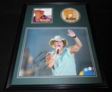 Kenny Chesney Signed Framed 16x20 Road & The Radio CD & Photo Display C