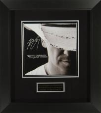 Kenny Chesney Signed Hemingway's Whiskey Album Flat Fra