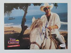 Kenny Chesney Signed Teen Country Authentic Magazine Page (JSA) #E51286