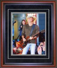 Kenny Chesney Unsigned Framed 8x10 Photo