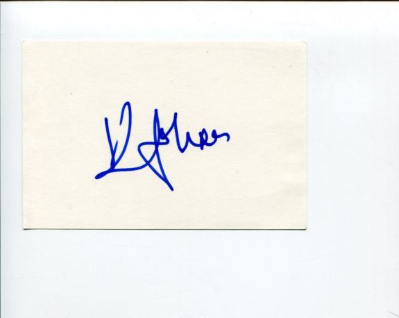 Kenny Johnson The Shield Saving Grace Dexter Sons of Anarchy Signed Autograph