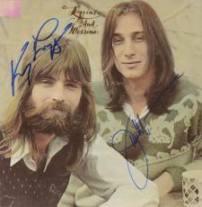 Kenny Loggins & Jim Messina Autographed Loggins & Muessina Album Cover - PSA/DNA COA