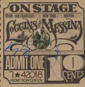 Kenny Loggins & Jim Messina Autographed Loggins & Muessina On Stage Album Cover - PSA/DNA COA