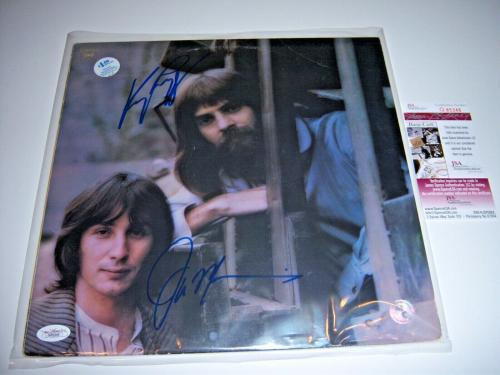 Kenny Loggins & Jim Messina Mother Lode 2sigs Jsa/coa Signed Lp Record Album