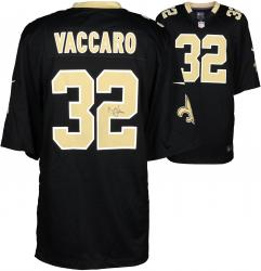 Kenny Vaccaro New Orleans Saints Autographed Game Black Jersey
