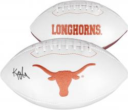 Kenny Vaccaro Texas Longhorns Autographed White Panel Football