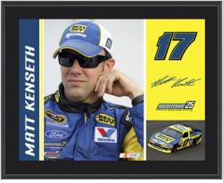 "Matt Kenseth Best Buy 2012 Sublimated 10"" x 13"" Plaque - Mounted Memories"