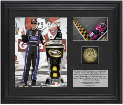 "Matt Kenseth 2012 Good Sams Club Race Winner Framed 6"" x 5"" Photo w/ Plate & Gold Coin- Limited Edition - Mounted Memories"