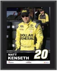 "Matt Kenseth Sublimated 10.5"" x 13"" Plaque - Mounted Memories"