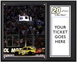"Matt Kenseth 2013 Irwin Tools Night Race Sublimated 12"" x 15"" I Was There Plaque"