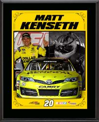 "Matt Kenseth Sublimated 10.5"" x 13"" Stylized Composite Plaque"
