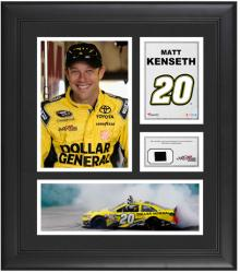 "Matt Kenseth Framed 15"" x 17"" Collage with Race-Used Tire"