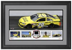 Matt Kenseth Framed Panoramic with Race-Used Tire-Limited Edition of 500 - - Mounted Memories