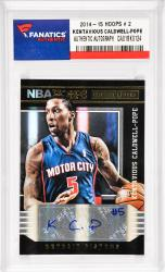 Kentavious Caldwell-Pope Detroit Pistons Autographed 2014-15 Hoops #2 Card Pack Pulled