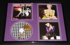 Keri Hilson Framed 11x14 In a Perfect World CD Display