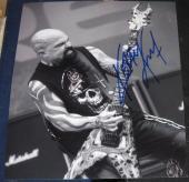 Kerry King Heavy Metal Slayer Guitarist Signed 8x10 Photo Coa Autographed Music