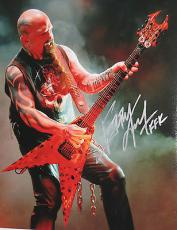 KERRY KING of SLAYER Signed In Concert 11x14 Inch Large PHOTO