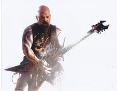 Kerry King Signed 8x10 Photo w/COA Slayer Megadeth Heavy Metal Legend
