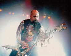 Kerry King Signed 8x10 Photo w/COA Slayer Megadeth Heavy Metal Legend #3