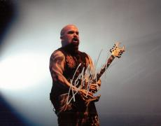 Kerry King Signed 8x10 Photo w/COA Slayer Megadeth Heavy Metal Legend #4