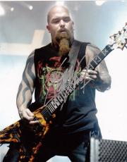 Kerry King Signed 8x10 Photo w/COA Slayer Megadeth Heavy Metal Legend #5