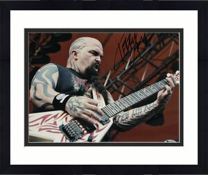 Kerry King Signed Autographed 8x10 Photo Beckett Slayer 3