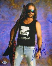 KERRY KING Signed Autographed SLAYER 11x14 Photo BECKETT BAS #C14978