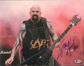 KERRY KING Signed Autographed SLAYER 11x14 Photo BECKETT BAS #C14979