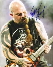 """KERRY KING Signed Autographed """"SLAYER"""" 11x14 Photo BECKETT BAS #C34880"""