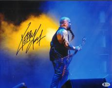 """KERRY KING Signed Autographed """"SLAYER"""" 11x14 Photo BECKETT BAS #C34881"""