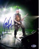 KERRY KING Signed Autographed SLAYER 11x14 Photo BECKETT BAS #C92451