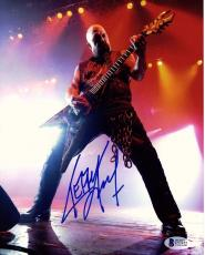 KERRY KING Signed Autographed SLAYER 11x14 Photo BECKETT BAS #C92452