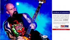 Kerry King Signed - Autographed SLAYER Concert 8x10 inch Photo with PSA/DNA Certificate of Authenticity (COA) - Heavy Metal Guitarist