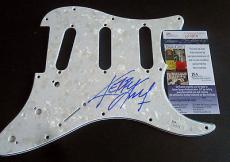 Kerry King Signed Electric Pickguard w/COA Slayer Megadeth Jeff Hanneman #1