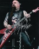 KERRY KING signed (SLAYER) MUSIC 8X10 photo GUITARIST *RAINING BLOOD* W/COA #3