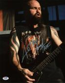 Kerry King Slayer Signed 11X14 Photo Autographed PSA/DNA #W46407