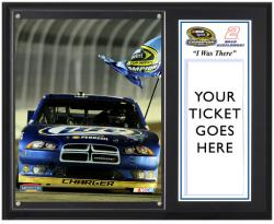 "Brad Keselowski 2012 Sprint Cup Series Champion ""I WAS THERE"" 12x15 Plaque - Mounted Memories"