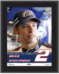 "Brad Keselowski Sublimated 10.5"" x 13"" Plaque - Mounted Memories"